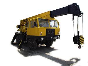 Автокран Ifa ADK 125