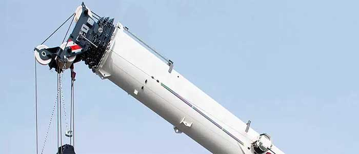 Телескопична стрела на кран